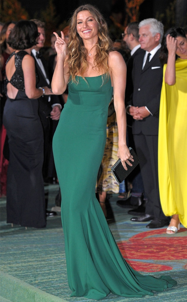 Gisele Bündchen, Green Carpet Fashion Awards Italia