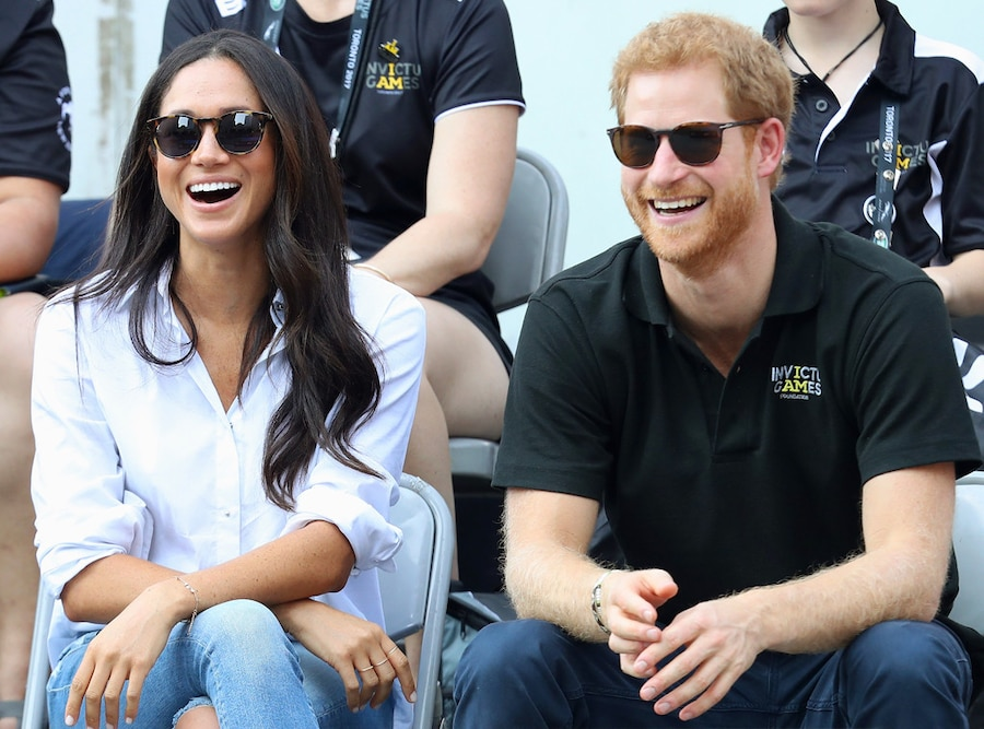 Prince Harry, Meghan Markle, Invictus Games 2017