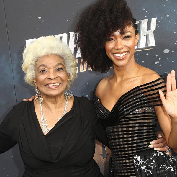 <i>Star Trek: Discovery</i>'s Sonequa Martin-Green Shared the Best Tribute to Nichelle Nichols