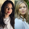Sasha Pieterse,Janel Parrish, Pretty Little Liars