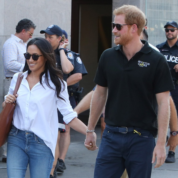 Meghan Markle sits in private box during Invictus closing ceremony