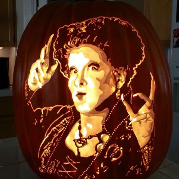 Celebrity Pumpkin Carvings