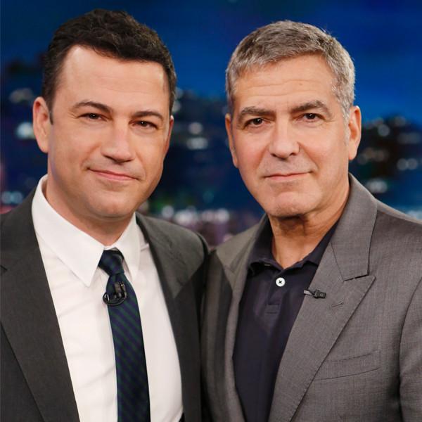 Jimmy Kimmel, George Clooney