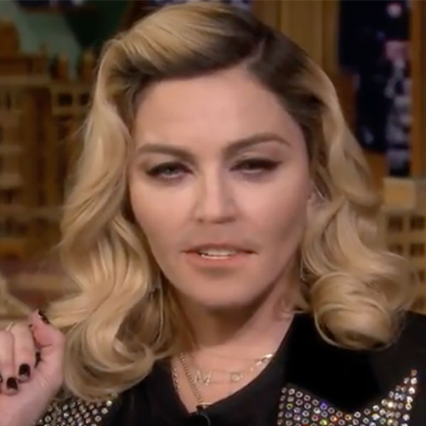 Madonna, The Tonight Show, Lip Flip