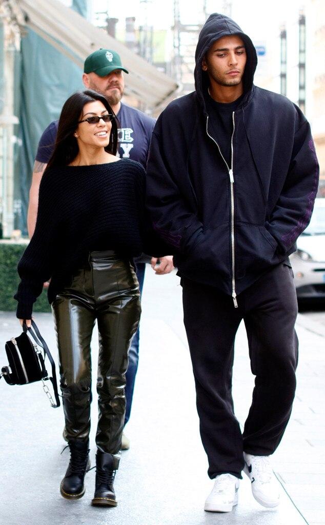 younes bendjima and kourtney kardashian s sizzlin paris