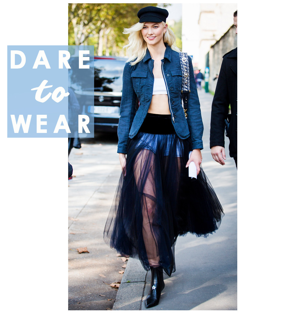 ESC: Karlie Kloss, Dare to Wear