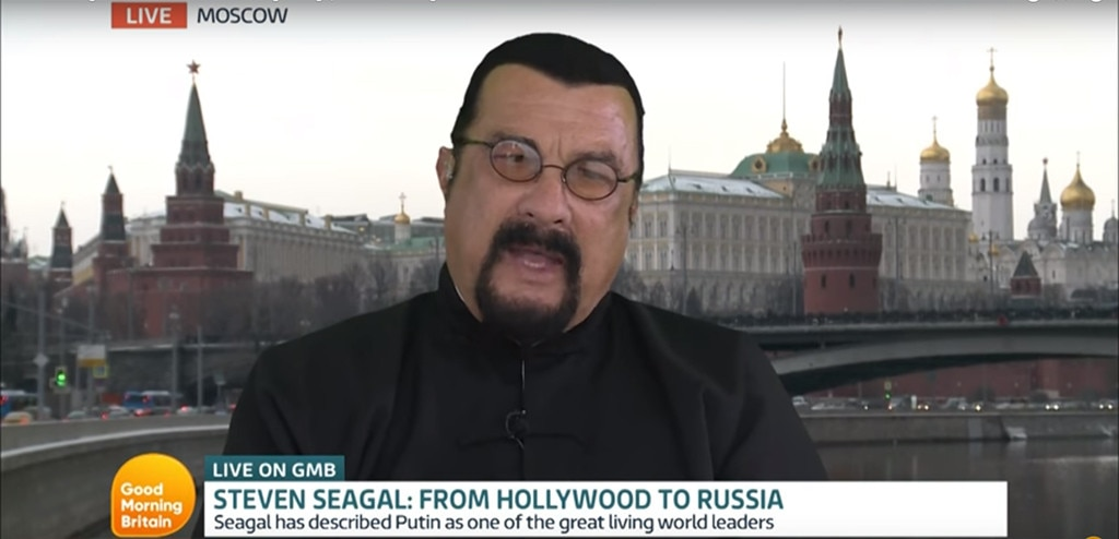 Steven Seagal, Good Morning Britain
