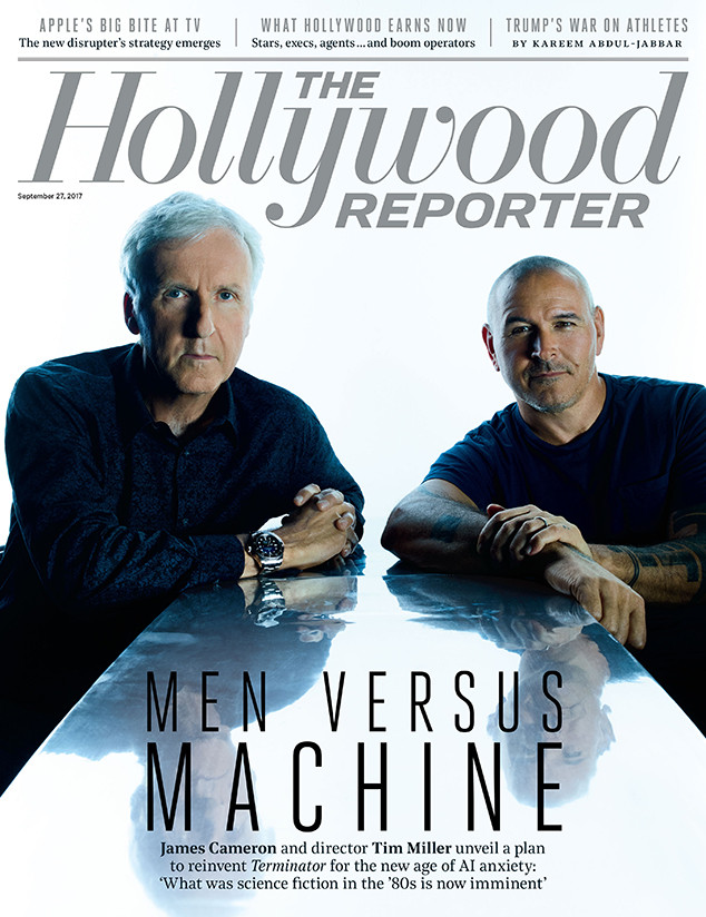 James Cameron, The Hollywood Reporter