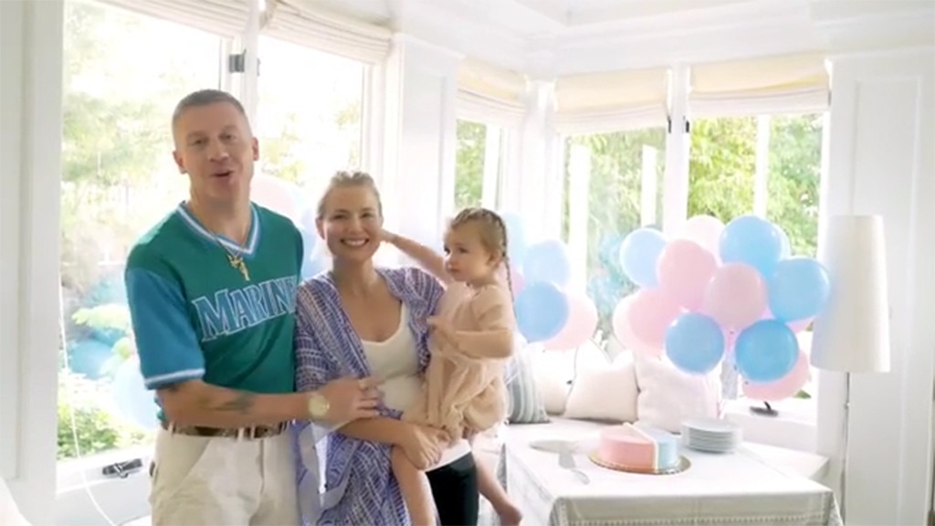 Macklemore announces his wife is expecting a baby in the sweetest way