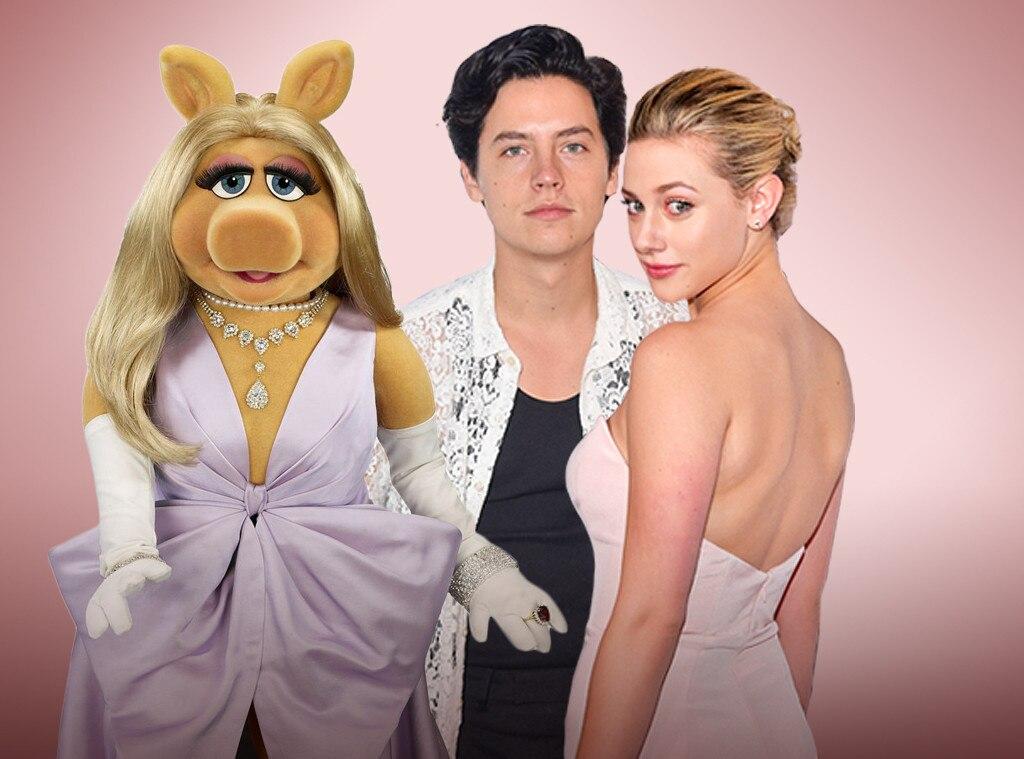 Miss Piggy, Cole Sprouse, Lili Reinhart