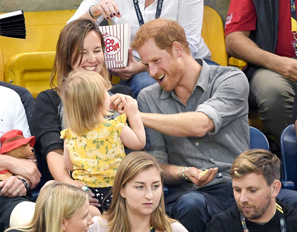 Prince Harry, Hayley Henson, Emily