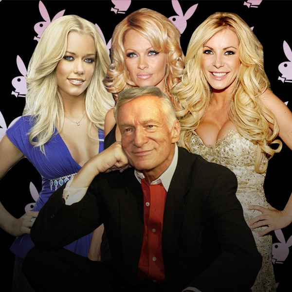 Even in Death, Hugh Hefner Sleazily Sidles Up to Marilyn Monroe