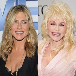 Jennifer Aniston, Dolly Parton