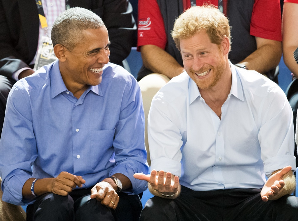 Barack Obama, Prince Harry, Invictus Games 2017