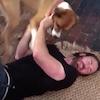 Chris Evans, Dog, Twitter