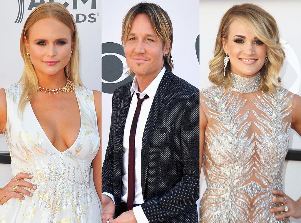 Miranda Lambert, Keith Urban, Carrie Underwood