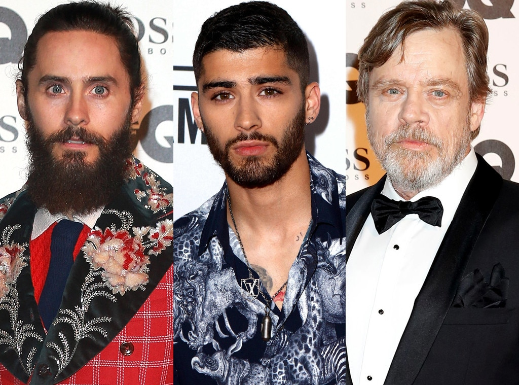 Jared Leto, Zayn Malik, Mark Hamill