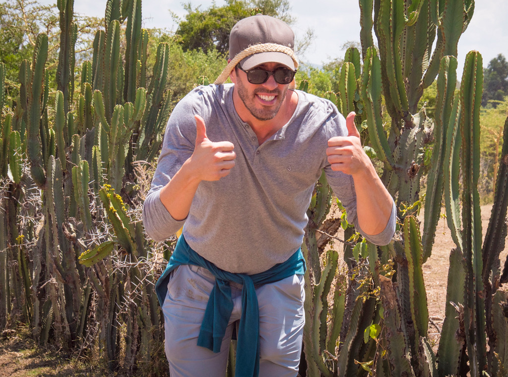 Drew Scott, Kenya