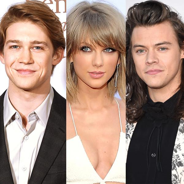 Joe Alwyn, Taylor Swift, Harry Styles