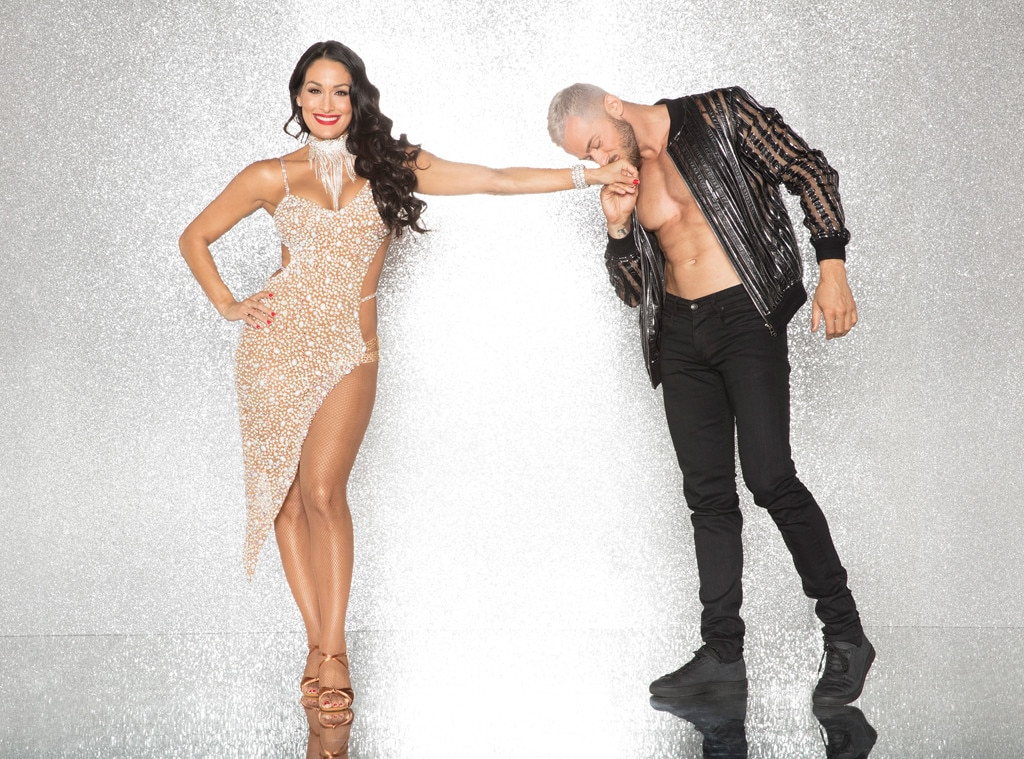 Nikki Bella and Artem Chigvintsev, DWTS
