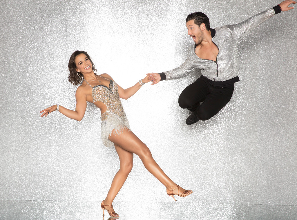 Victoria Arlen and Val Chmerkovskiy, DWTS