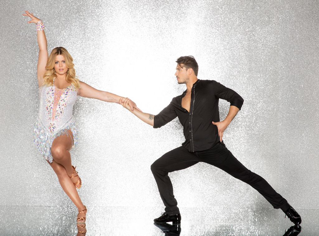 Sasha Pieterse and Gleb Savchenko, DWTS