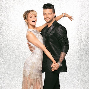 Mark Ballas and Lindsey Stirling, DWTS