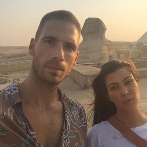 Simon Huck, Kourtney Kardashian, Instagram