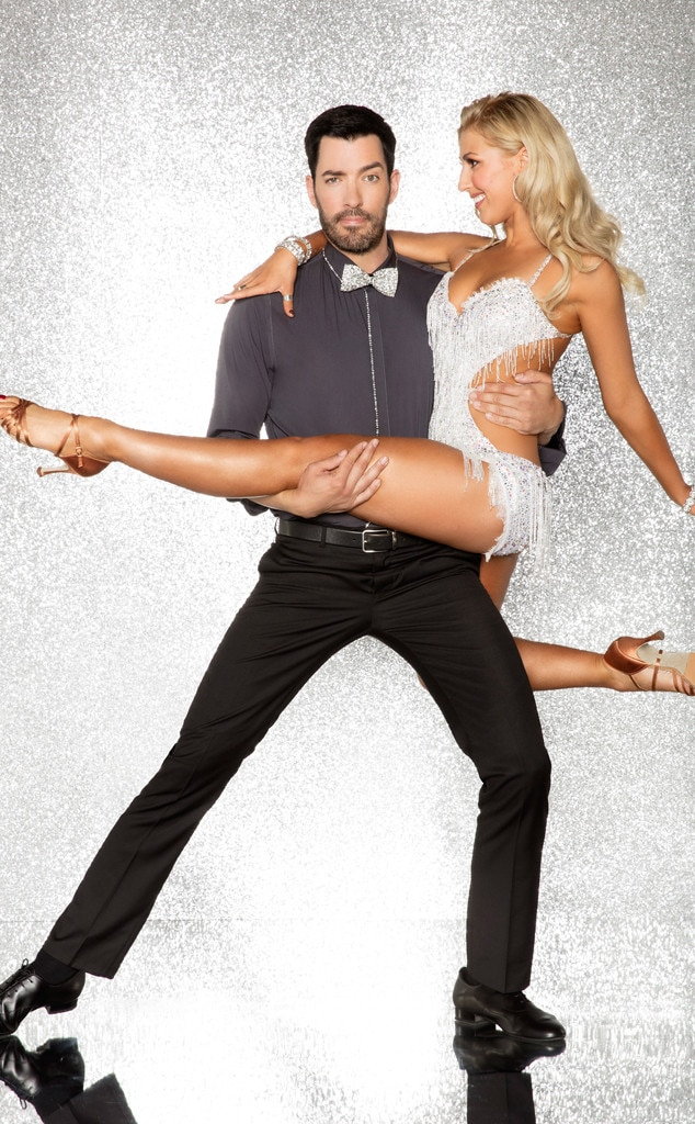 Drew Scott and Emma Slater, DWTS