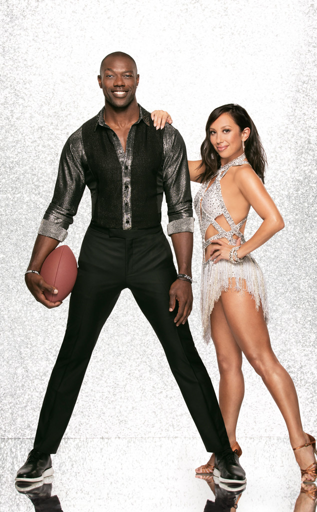 Terrell Owens and Cheryl Burke, DWTS