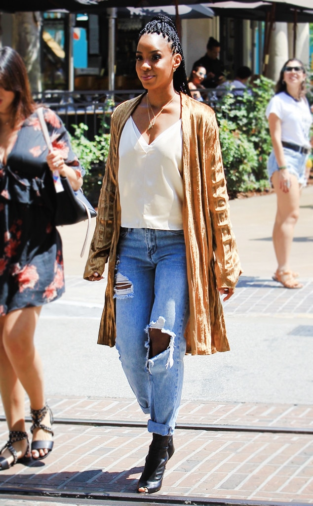 Kelly Rowland Dishes On Her First Big Fashion Splurge Back