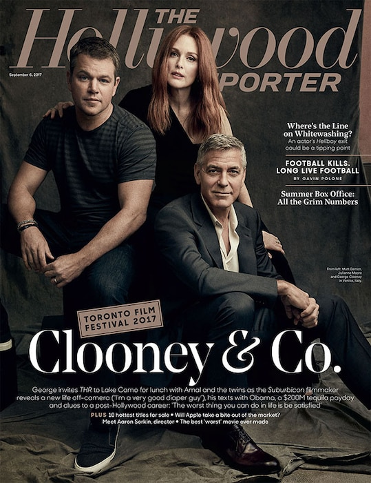 George Clooney, The Hollywood Reporter
