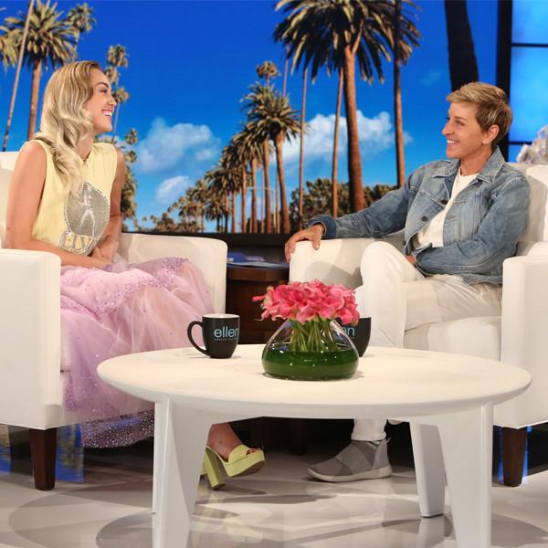 Miley Cyrus, Ellen