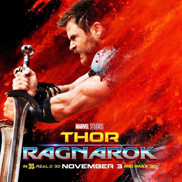 <i>Thor: Ragnarok</i> Movie Posters