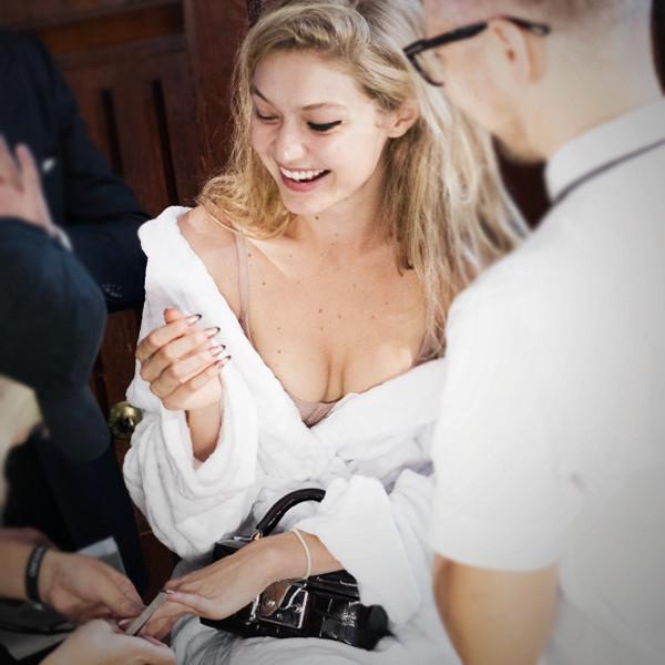 ESC: Models Backstage, Gigi Hadid