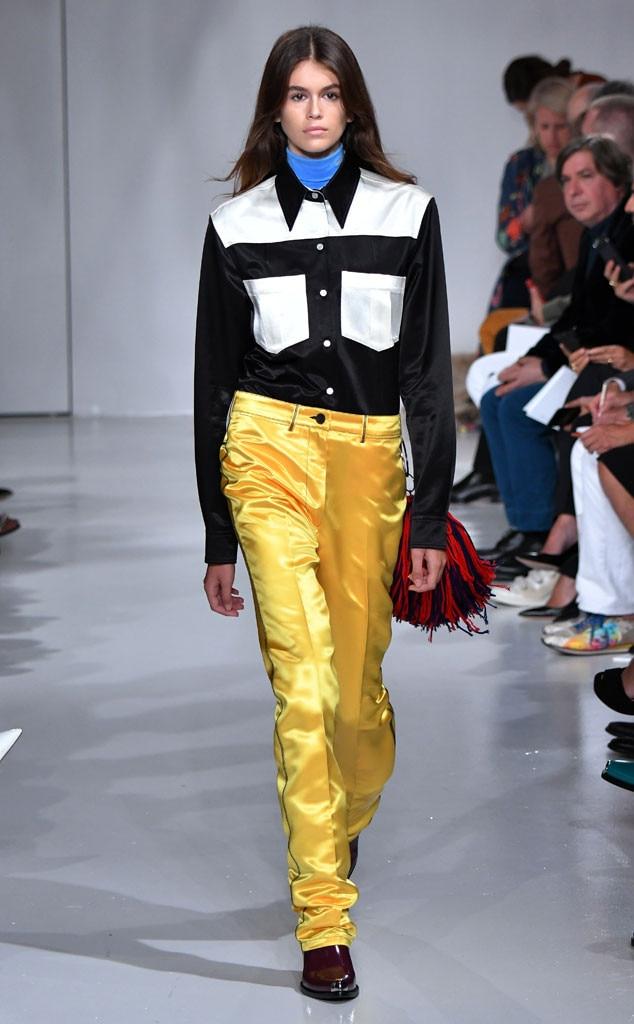 Kaia Gerber, Calvin Klein