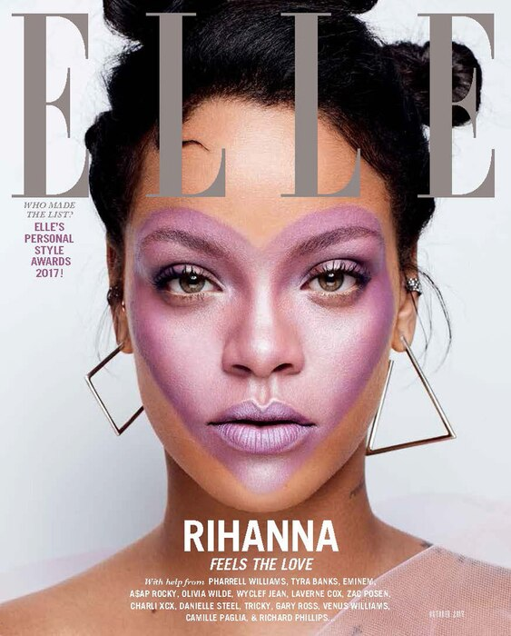 ESC: Rihanna, Elle Magazine, Halloween E!ssentials