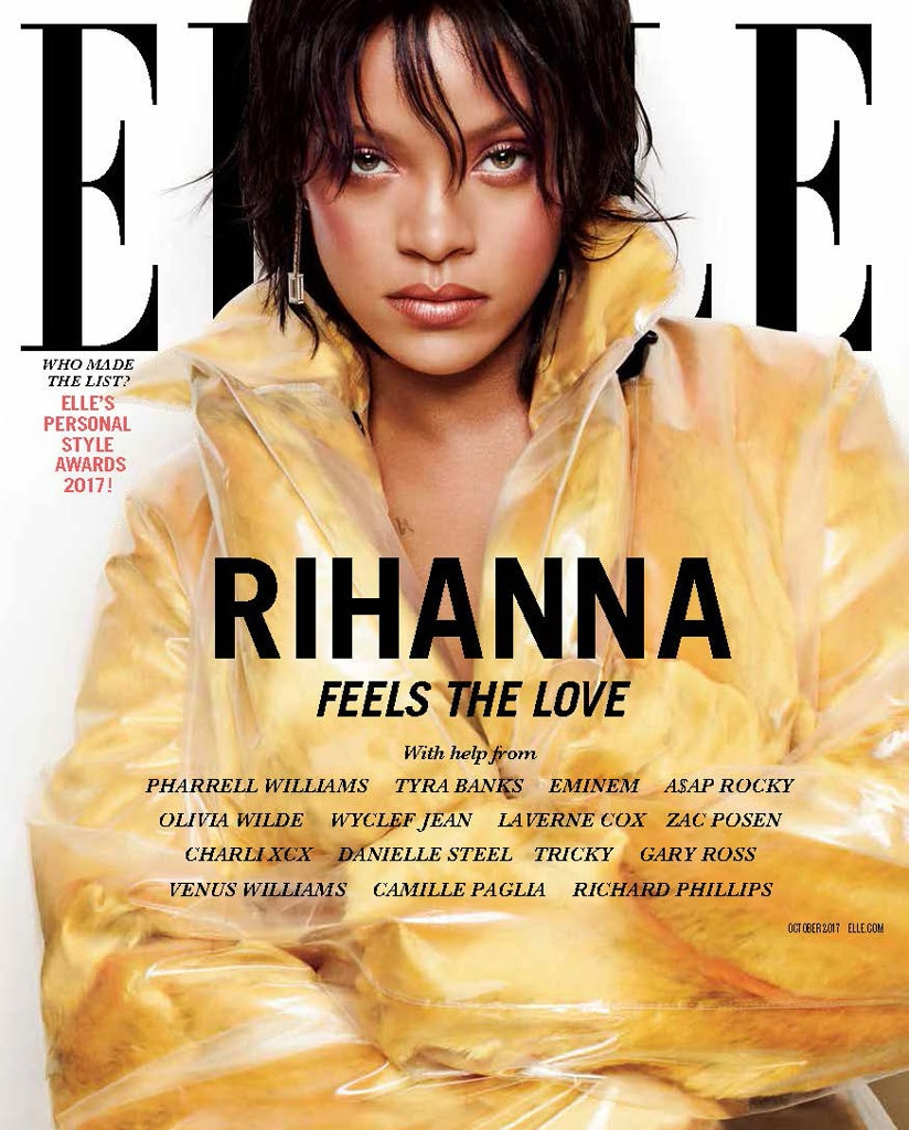 Image result for rihanna elle magazine 2017