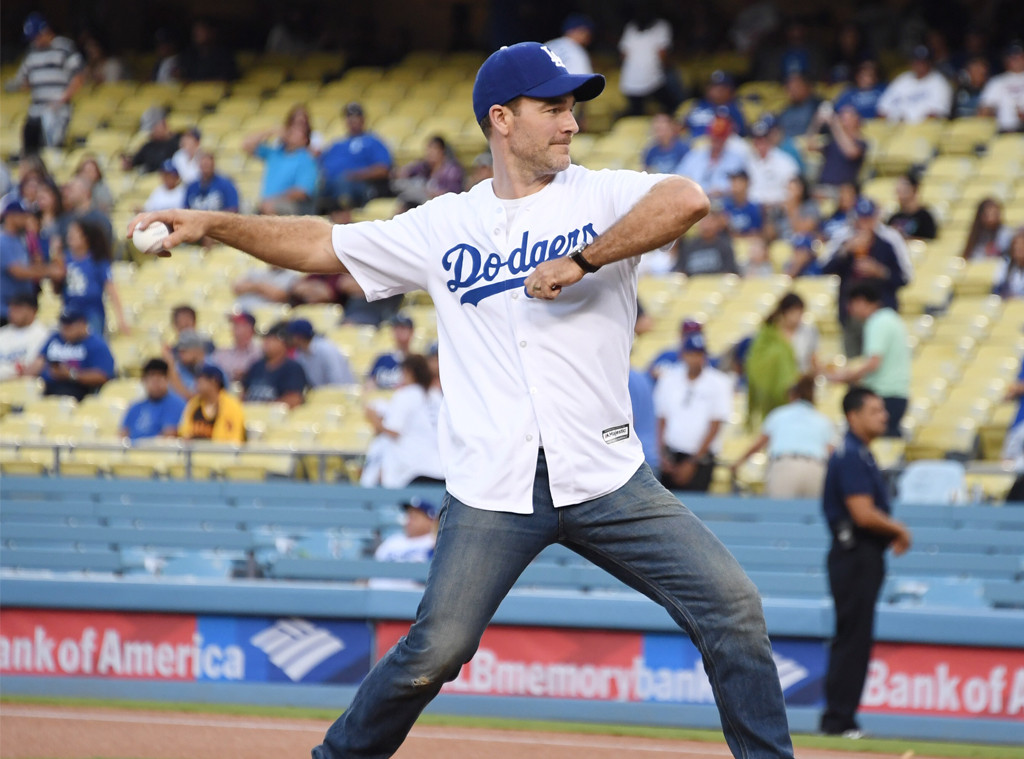 James Van Der Beek, Dodgers