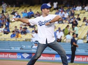 James Van Der Beek, Dodgers