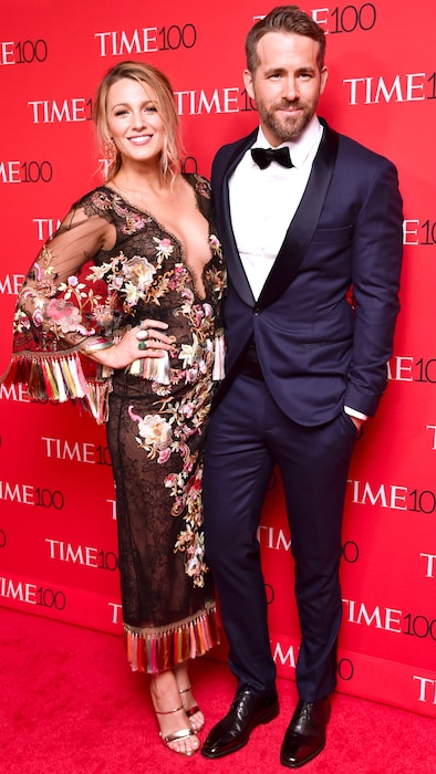 Blake Lively, Ryan Reynolds, Time 100 Gala