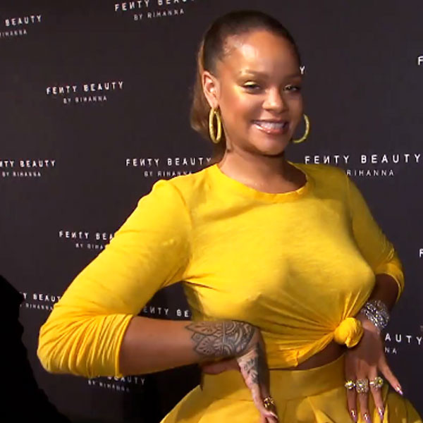 Rihanna, Fenty Beauty Launch Party