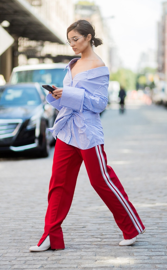 New York Fashion Week Spring 2018 Best Celeb Street Style