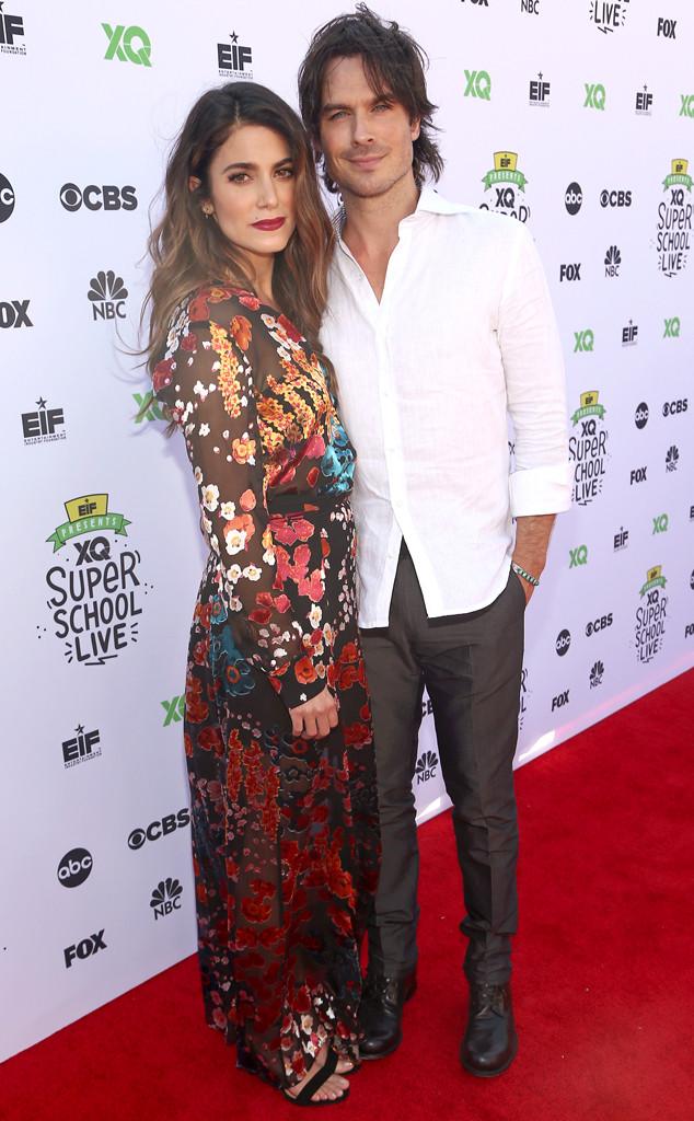 Nikki Reed & Ian Somerhalder