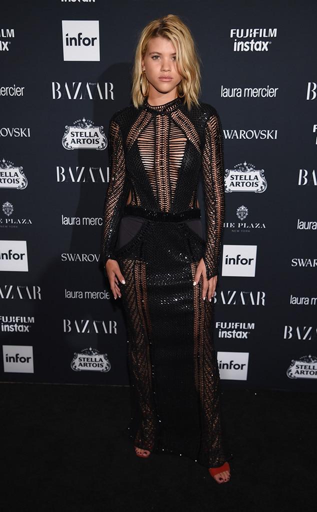 Sofia Richie, NYFW 2017, Harpers Bazaar Party
