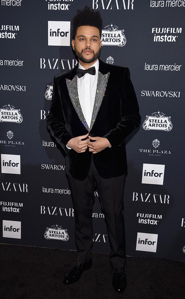 The Weeknd, NYFW 2017, Harpers Bazaar Party