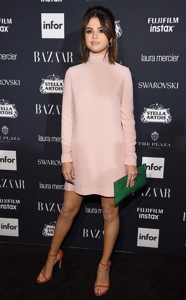 Selena Gomez, NYFW 2017, Harpers Bazaar Party