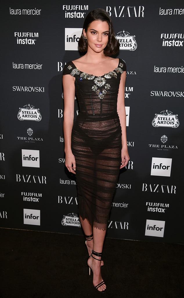 Kendall Jenner, NYFW 2017, Harpers Bazaar Party