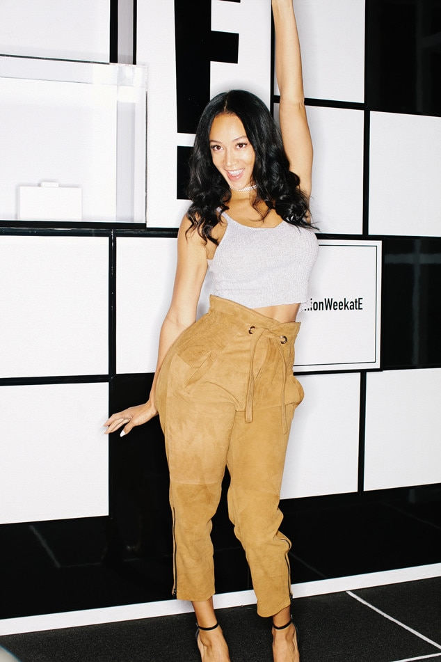 Draya Michele from NYFW Spring 2018 Stars & Influencers ...