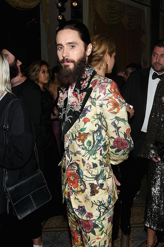 Jared Leto, NYFW 2017, Harpers Bazaar Party